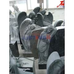 Multicolor granite angel gravestone manufacturer