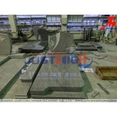customized shaped Himalaya Blue granite